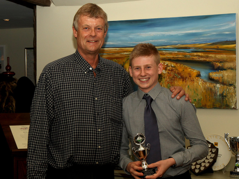 Callum Taylor, young player of the season