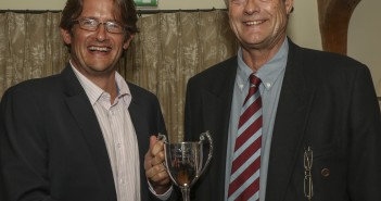 Mark Thomas picks up the outstanding performance of the year from club captain Peter Thomas.