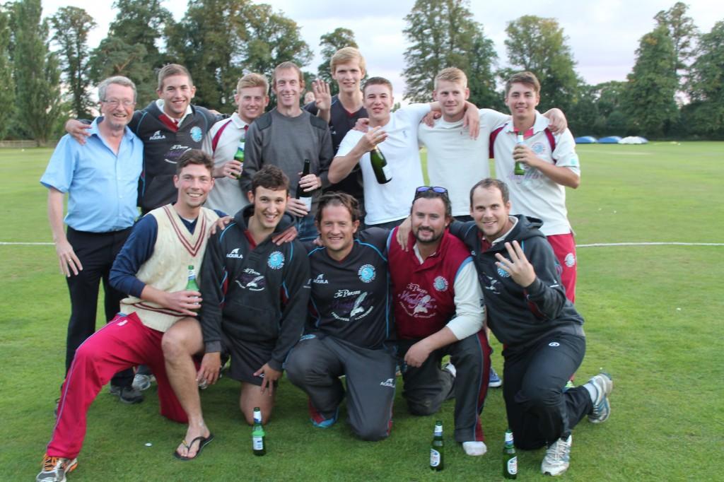 Swardeston CC - EAPL Champions 2015