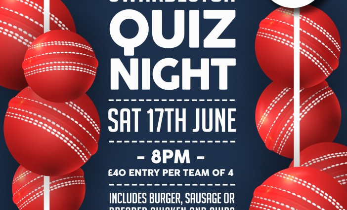 Quiz night booked in for 17 June