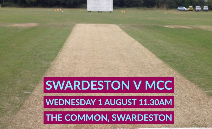 Swardeston to host 2018 MCC fixture