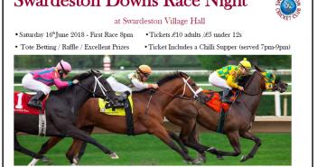 Swardeston Race Poster