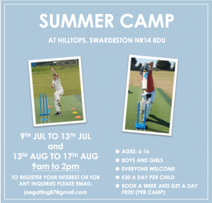 Joe Gatting SUMMER CAMPS 2 Dates