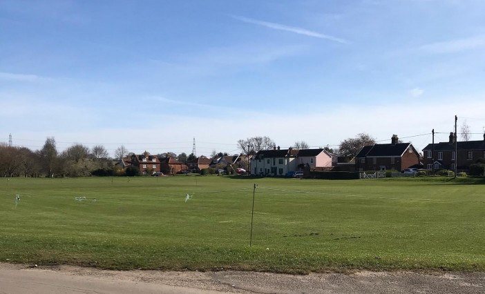 Guidance for cricket at The Common, Swardeston 2020