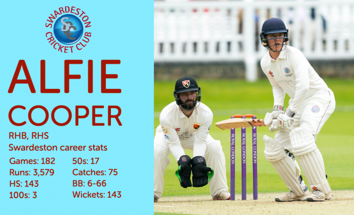 The First XI: Eleven questions with Alfie Cooper