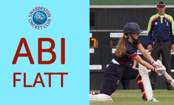 Celebrating Women's Big Cricket Month. Abi Flatt Q&A.