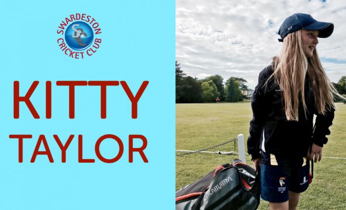 Celebrating Women's Big Cricket Month. Kitty Taylor Q&A.