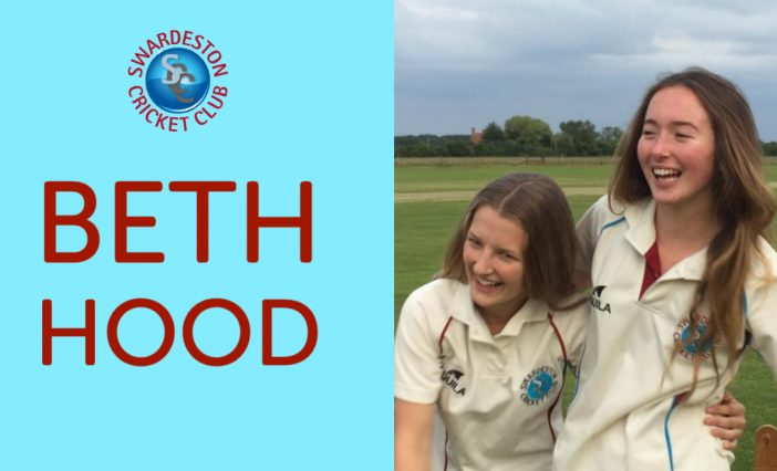Celebrating Women's Big Cricket Month. Beth Hood Q&A.